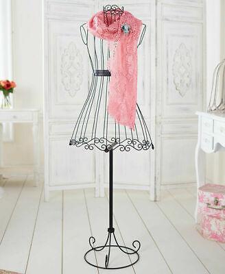 Old Fashion Vintage Metal Dress Form Mannequin Functional Decorative Display