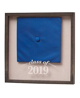 2019 Graduation Cap Shadow Box covid 19 (Graduation Shadow Box coronavirus)