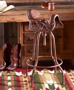 Western Bar Stools Ebay