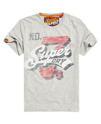 Superdry Mens Super7 T-Shirt