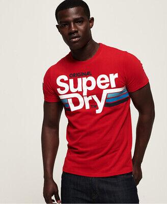 Superdry Mens Short Track T-Shirt