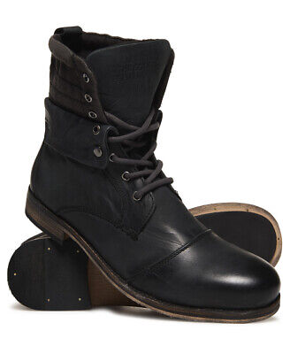 Superdry Mens Trawler Mid Boots