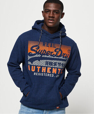 Superdry Mens Vintage Authentic Hoodie