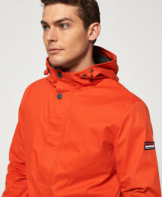 Superdry Mens New York Harbour Coat