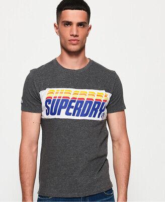 Superdry Mens Triple Drop Pop Panel T-Shirt
