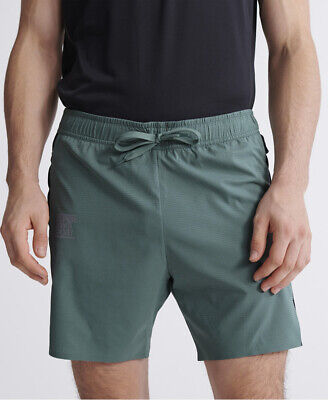 Superdry Mens Training Double Layer Shorts