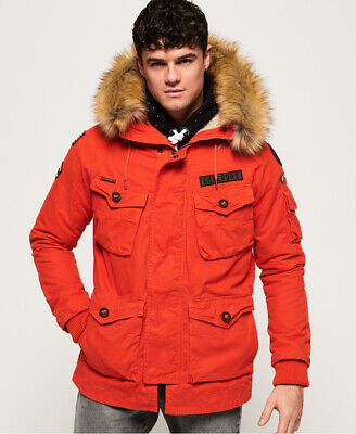 Superdry Mens Rookie Heavy Weather Parka Jacket