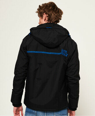 Superdry Mens Pop Zip Arctic Hooded Sd-Windcheater Jacket