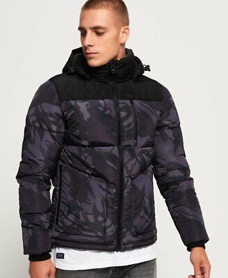 Superdry SD Expedition Coat Black Size Small S