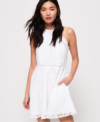 Superdry Womens Teagan Halter Dress