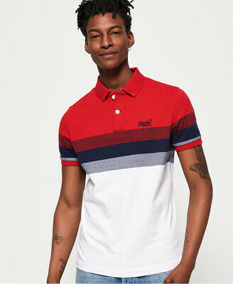 Superdry Mens Classic Longbeach Polo Shirt
