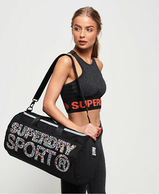 Superdry Womens Sport Barrel Bag