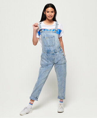 Superdry Womens Denim Utility Dungarees