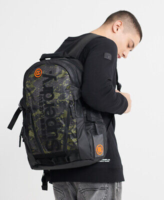 Superdry Mens Camo Tarp Backpack
