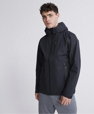 Superdry Mens Training Waterproof Jacket