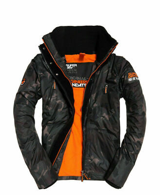 Mens Superdry Polar SD-Wind Attacker Camo Blur Large