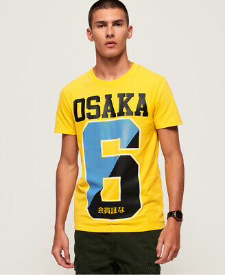Superdry Mens Osaka T-Shirt