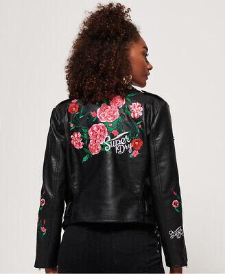Superdry Georgia Studded Biker Jacket