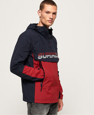 Superdry Mens Core Overhead Cagoule