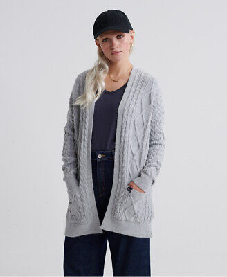 Superdry Womens Lannah Cable Cardigan