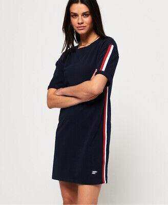 Superdry Womens Georgia Short Sleeve Sweat Dress