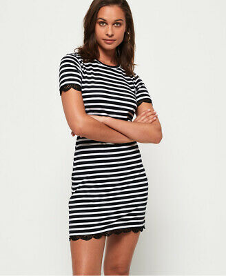 Superdry Lace T-Shirt Dress