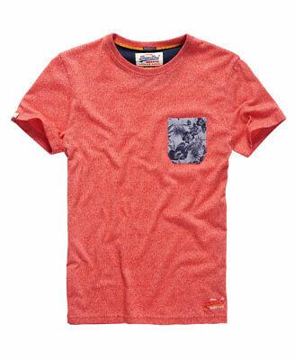 Superdry Mens Festival Pocket T-Shirt