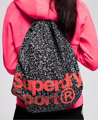 Superdry Womens Drawstring Sports Bag