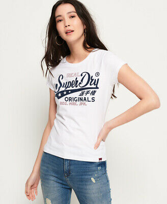Superdry Bonded Denim T-Shirt