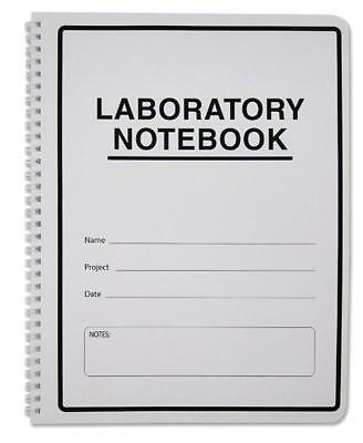 BookFactory Carbonless Lab Notebook (Scientific Grid Format), 50 ...