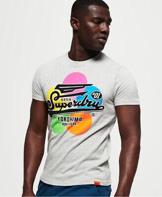 Superdry Mens Super 5 T-Shirt