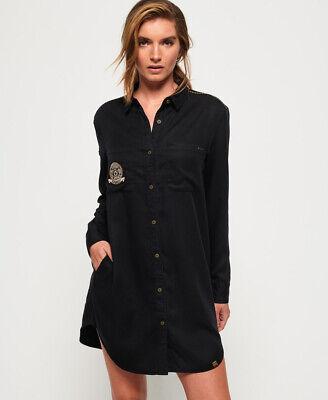 Superdry Womens Cora Military Shirt Dress