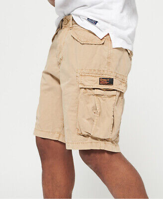 Superdry Mens Core Lite Ripstop Cargo Shorts