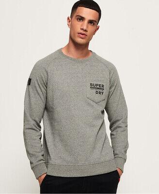 Superdry Mens Surplus Goods Graphic Crew Sweatshirt