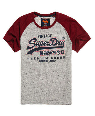 Superdry Mens Premium Goods Raglan T-Shirt