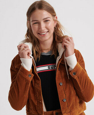 Superdry Womens Cord Girlfriend Jacket