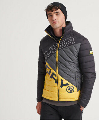 Superdry Mens Incline Quilt Fuji Jacket