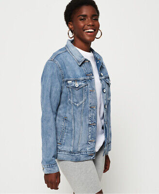 Superdry Longline Denim Jacket