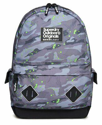 Superdry Squad Montana Ice Camo Splat Backpack Bag m91014nq Rucksack Supreme