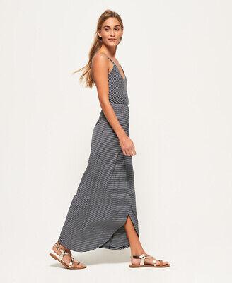 Superdry Womens Stripe Wrap Dress