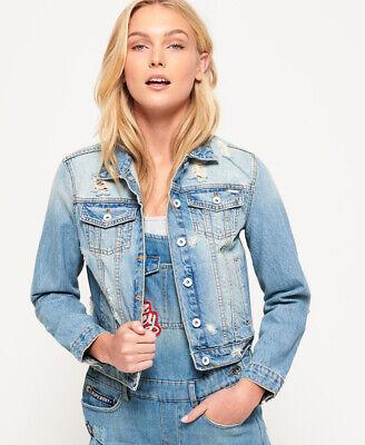 Girl Denim Jacket (Superdry Girlfriend Denim)