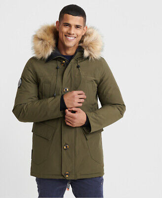 Superdry Mens Rookie Down Parka Jacket