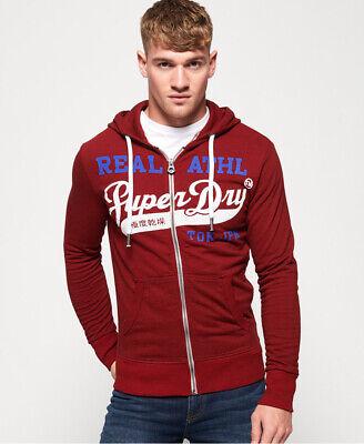 Superdry Mens Heritage Classic Zip Hoodie