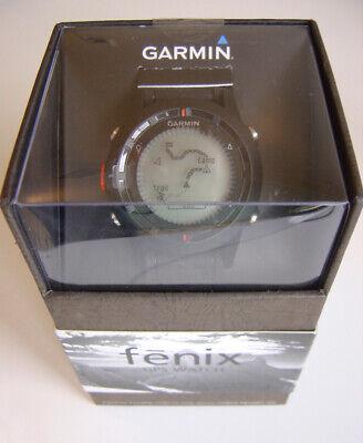 AUSTRALIAN ISSUED GARMIN FENIX GPS BAROMETER ALTIMETER COMPASS WATCH BNIB