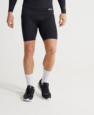 Superdry Mens Training Compression Shorts