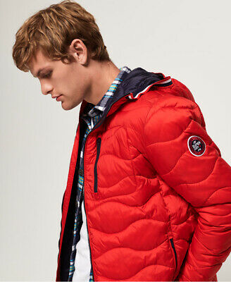 Superdry Mens Wave Quilt Jacket