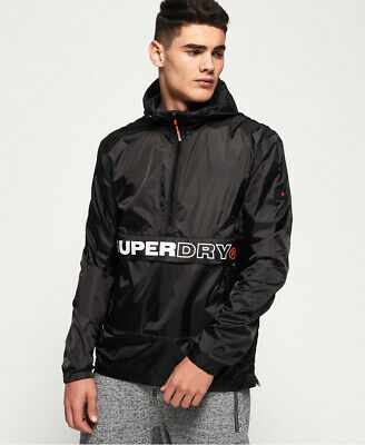 Superdry Mens Core Skate Packaway Overhead Jacket