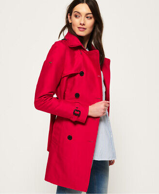 Superdry Womens Belle Trench Coat