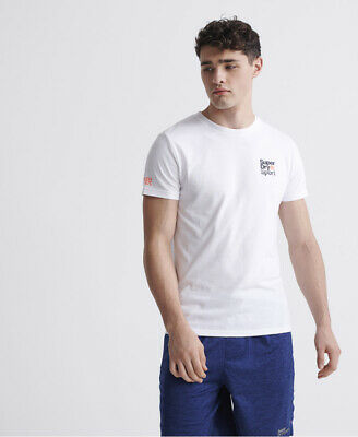 Superdry Mens Core Sport Small Logo T-Shirt