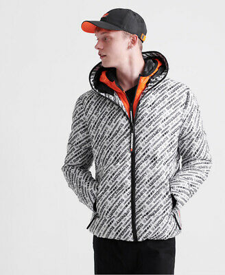 Superdry Mens Street Line Puffer Jacket